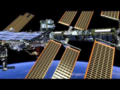 Fly Around the International Space Station