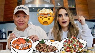 Escape The Night Muk Bang: Blowing Rosanna Pansino's Mind with Thai Food #ETN4