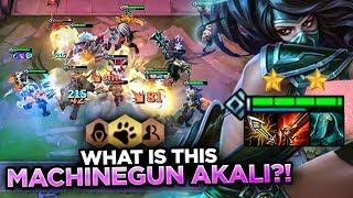 I TURNED MY AKALI INTO A MACHINE GUN! 4 WILD ASSASSINS! | Teamfight Tactics