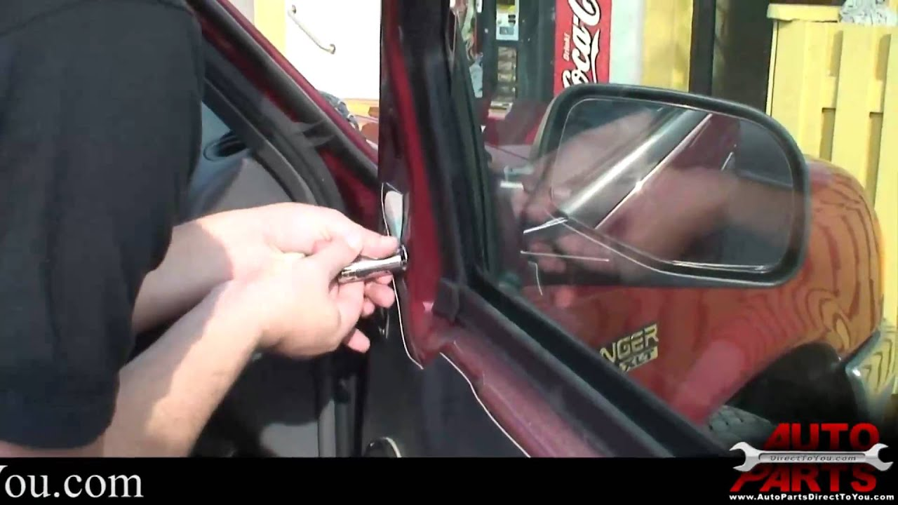 Ford Fusion Parts >> Ford Ranger Side Mirror Replacement - YouTube
