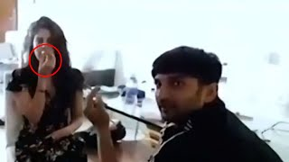 UNSEEN smoking video of Rhea Chakraborty and Sushant Singh..