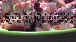 How to make the perfect Dominican style potato salad with / Chef's Felix and Rosa.