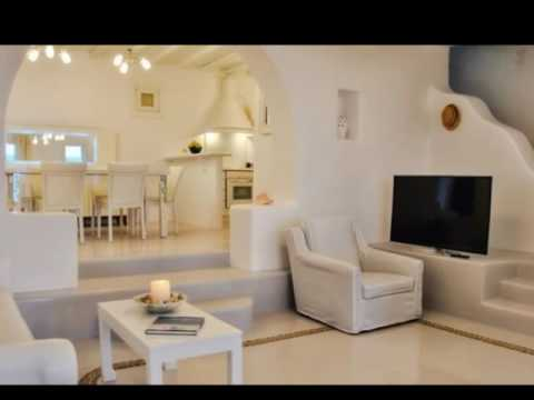 White Villa - A vacation Villa in Mykonos Greece