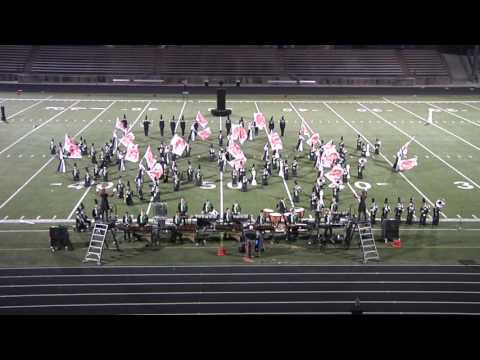 Blue Valley Southwest Emerald Regiment BV Marching Festival