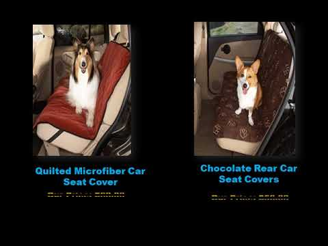Waterproof Car Seat Covers for Dog || DoggieCoutureShop