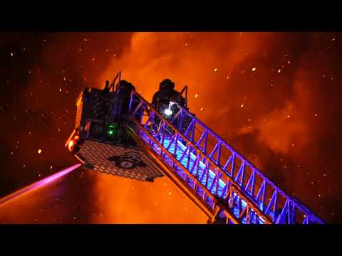 BOUND BROOK NEW JERSEY MAJOR FIRE 1/12/20 APARTMENT COMPLEX ENGULFED IN A MASSIVE FIRE