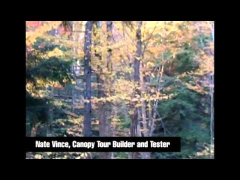 ArborTrek Canopy Adventures at Smugglers' Notch Resort - Canopy Tour Build - Week 3