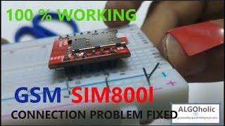 SIM800L with arduino Tutorial  How to send, receive SMS and make a
