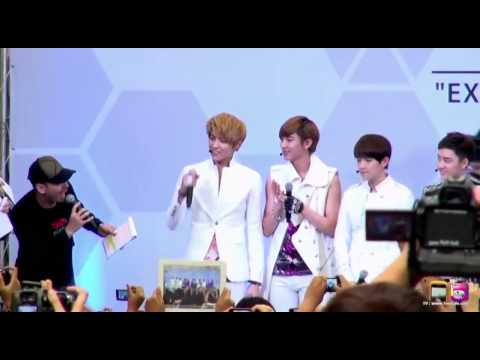 120728 EXO - Mini Live in Thailand