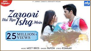 Zaroori Hai Kya Ishq Mein – Meet Bros Ft Papon