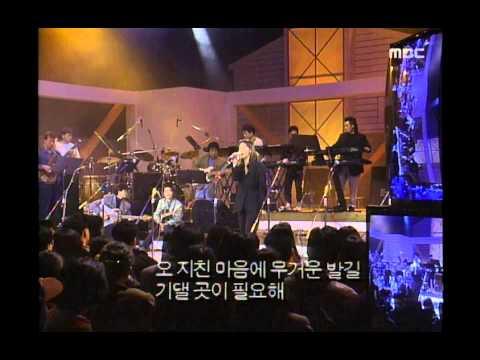 Jung Hye-sun - Somehow, 정혜선 - 오 왠지, Saturday Night Music Show 19930220