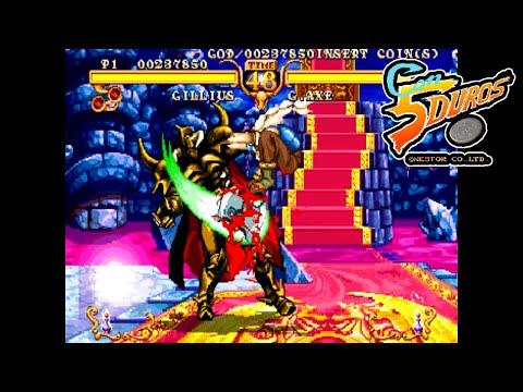 """GOLDEN AXE: THE DUEL (GILLIUS ROCKHEAD) - """"CON 5 DUROS"""" Episodio 877 (+ver Sega Saturn) (1cc)"""