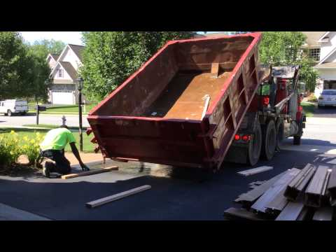 How To Prevent a Dumpster From Damaging Your Driveway