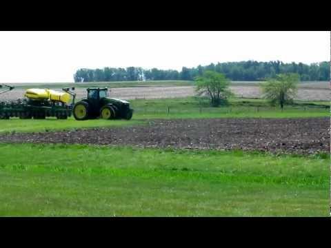 Planting 2012 Corn Maze