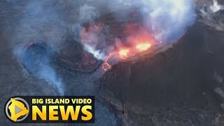 Hawaii Volcano Eruption Update - Monday Evening (Aug. 6, 2018)