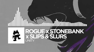 Rogue x Stonebank x Slippy - Unity [Monstercat Release] [Uncaged Vol. 1 Collab]