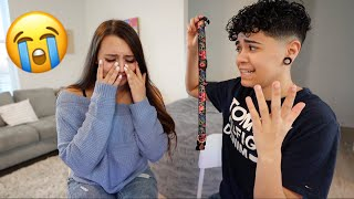 I LOST OUR DOG PRANK ON GIRLFRIEND *SHE CRIED*