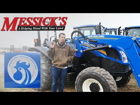 The Perfect Tractor for Chicken Farmers! | New Holland WorkMaster 105 - Poultry House Special Picture
