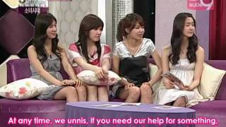 [ENG] SNSD - 3 Color Women TalkShow April.04 2008 (Full)