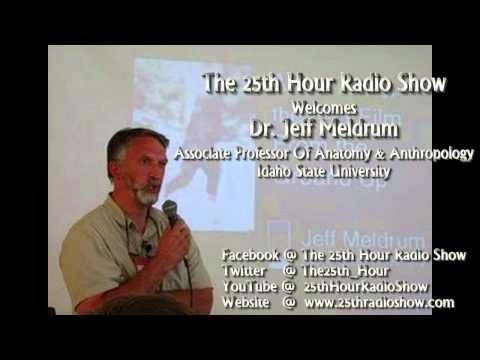 Dr. Jeff Meldrum - Associate Professor Of Anatomy & Anthropology Idaho St. - Bigfoot Existence
