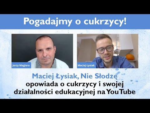 Maciej Łysiak, Nie Słodzę opowiada o cukrzycy i swojej działalności edukacyjnej na YouTube