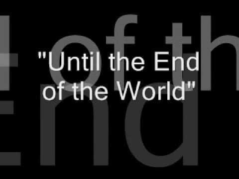 U2-Until the End of the World lyrics