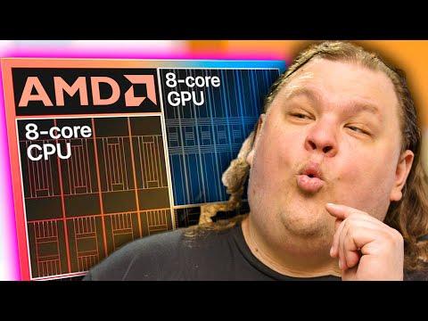 AMD hybrid CPUs look TASTY...