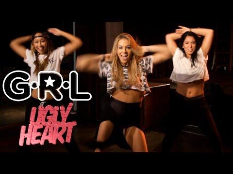 G.R.L. - Ugly Heart (Dance Tutorial)