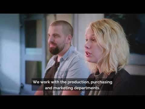 Thesis projects and career opportunities at Epiroc -  Caroline & Petter