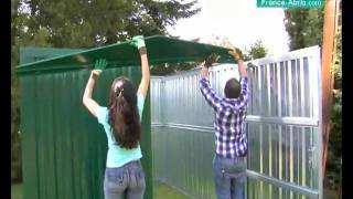 Video Montage Abris Jardin France Abrismov