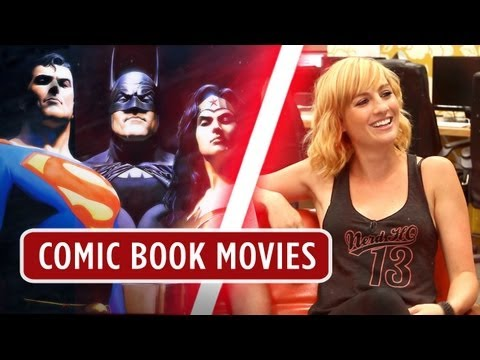 Comic Book Movies Nerd Machine Discussion - HD Movie - Alison Haislip