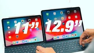 """11"""" vs 12.9"""" 2018 iPad Pro!"""