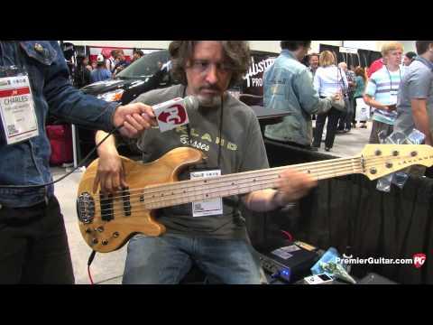 Summer NAMM '13 - Lakland 55-14 5-String Demo