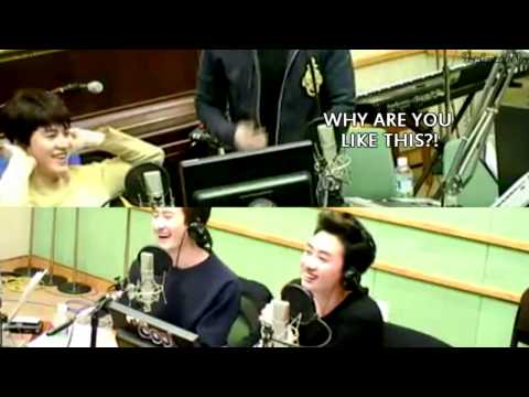 ENG | SPA The fine arts of pissing Donghae off by Eunhyuk & Kyuhyun - EunHae