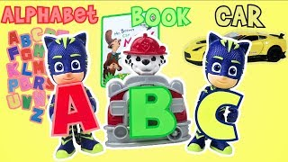 Learn the ABC's with PJ Masks and the Paw Patrol Pups!