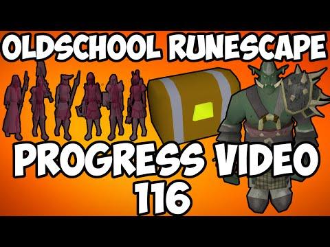 Oldschool Runescape - Barrows Loot! + Soloing Bandos! | 2007 Servers Progress Ep. 116
