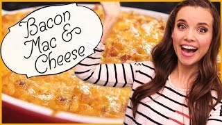 Ingrid Dishes   Bacon Mac And Cheese   Recipes from Missglamorazzi