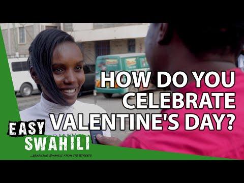How do you celebrate Valentine's Day? | Easy Swahili 1 photo