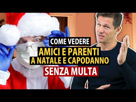 Come vedere amici e parenti a NATALE e CAPODANNO senza multa | avv. Angelo Greco