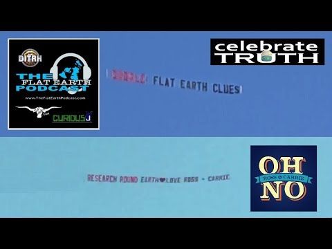 Flat Earth Dogfight: Dueling Banners at FEIC 2019 Dallas ✅