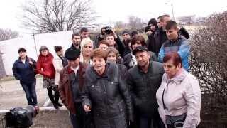 Крымско-татарские женщины принесли продукты воинам Украинских ВВС