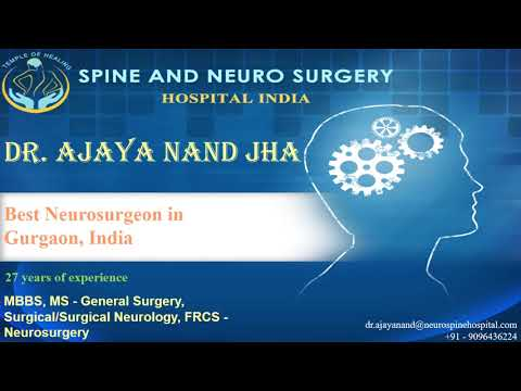 Famous Neurologist Dr. Ajaya Nand Jha In Medanta Hospital Gurgaon India