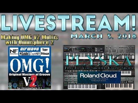 March 3, 2018 Livestream: RolandCloud / MM Viola Tease / OMG V2 Multi Making!