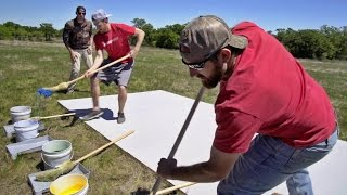 Giant Pictionary Battle | Dude Perfect
