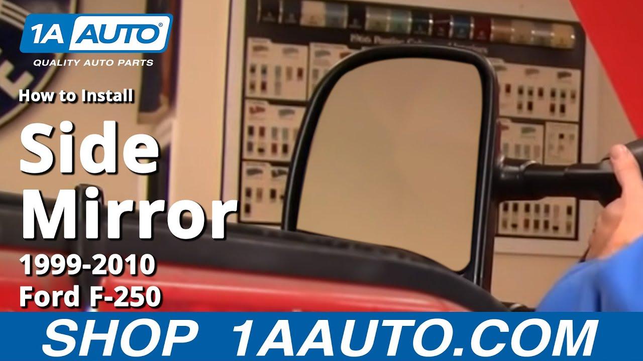 Ford Expedition Rear View Mirror Repair Photos