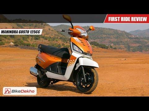 Mahindra Gusto 125   First Drive   BikeDekho.com