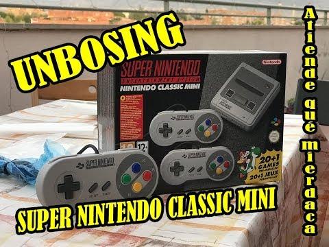 Unboxing de la SNES Mini - Unedited 360p