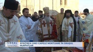 Sfintirea unei capele mortuare in orasul Murfatlar