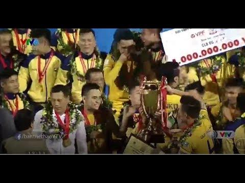 SLNA vs Bình Dương 5-1 vô địch Cúp Quốc gia 2017