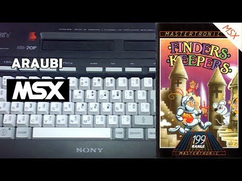Finders Keepers (Mastertronic, 1986) MSX [209] Walkthrough Comentado